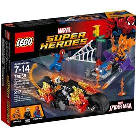 LEGO Super Heroes Összefogás Szellemlovassal 76058 Itt egy ajánlat található, a bővebben gombra kattintva, további információkat talál a termékről.