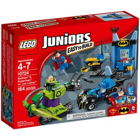 LEGO Juniors Batman és Superman Lex Luthor ellen 10724
