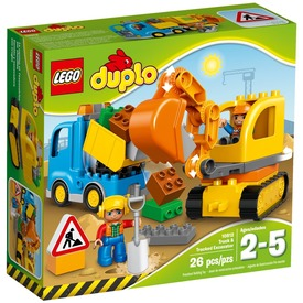 LEGO® DUPLO Teherautó és lánctalpas exkavátor 10812