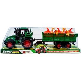 Lendkerekes traktor növényszállító utánfutóval - 30 cm Itt egy ajánlat található, a bővebben gombra kattintva, további információkat talál a termékről.