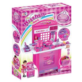 Játékkonyha fénnyel és hanggal - piros, 75 cm Itt egy ajánlat található, a bővebben gombra kattintva, további információkat talál a termékről.