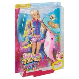 Barbie: Delfin varázs Barbie baba - 29 cm