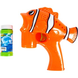 Halacska szappanbuborék fújó pisztoly