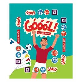 Góóól 3 az 1-ben kártyajáték Itt egy ajánlat található, a bővebben gombra kattintva, további információkat talál a termékről.