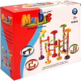 Marble 58 darabos műanyag golyópálya Itt egy ajánlat található, a bővebben gombra kattintva, további információkat talál a termékről.