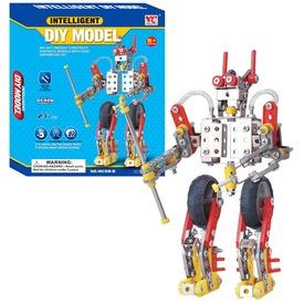 Robot 237 darabos fém építőjáték