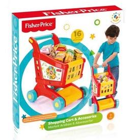 Fisher-Price bevásárló kocsi készlet