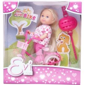 Évi Love baba biciklivel - 12 cm, többféle Itt egy ajánlat található, a bővebben gombra kattintva, további információkat talál a termékről.
