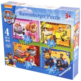 Puzzle 4IN1 - Mancs őrjárat