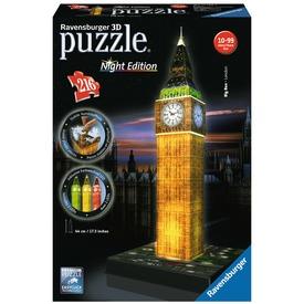 Big Ben 216 darabos 3D puzzle fénnyel