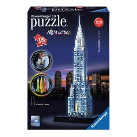 Chrysler épület 216 darabos 3D puzzle fénnyel