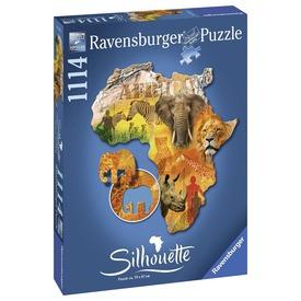 Puzzle sziluett 800-1200 db - Afrika Itt egy ajánlat található, a bővebben gombra kattintva, további információkat talál a termékről.