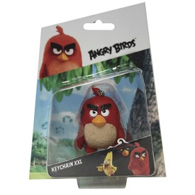 Angry Birds műanyag kulcstartó - 8 cm, többféle