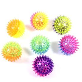 Villogó tüskés labda - 8 cm, többféle Itt egy ajánlat található, a bővebben gombra kattintva, további információkat talál a termékről.