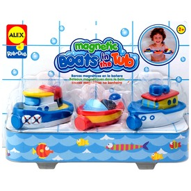 Alex , Mágneses kishajók fürdőjáték