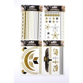 Tetováló matrica 36 db /csomag, 12 féle Itt egy ajánlat található, a bővebben gombra kattintva, további információkat talál a termékről.