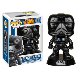 Star Wars Tie Fighter pilóta bólogató figura - 16 cm
