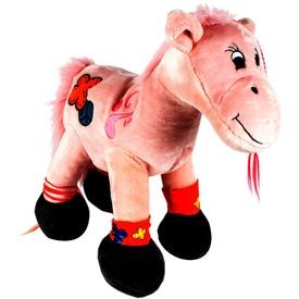 Álló ló plüssfigura - rózsaszín, 80 cm Itt egy ajánlat található, a bővebben gombra kattintva, további információkat talál a termékről.