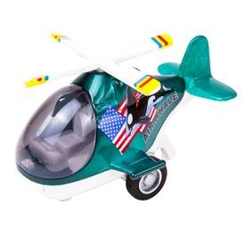 Air Whale helikopter - 10 cm, többféle