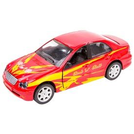Mercedes-Benz fém autó hanggal - 15 cm, többféle