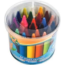 Crayola Jumbo tömzsi zsírkréta, 24 darabos 784 Itt egy ajánlat található, a bővebben gombra kattintva, további információkat talál a termékről.