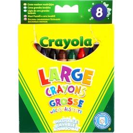 Crayola: vastag lemosható zsírkréta 8 darabos készlet