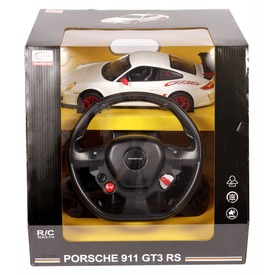 Távirányítós Porsche GT3 kormánnyal - 1:14