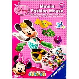Minnie egér divatos társasjáték