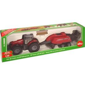 Siku: MF traktor bálázóval 1:50 - 1951 Itt egy ajánlat található, a bővebben gombra kattintva, további információkat talál a termékről.
