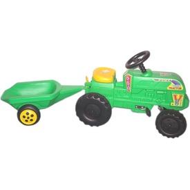 Pedálos farmer traktor utánfutóval Itt egy ajánlat található, a bővebben gombra kattintva, további információkat talál a termékről.