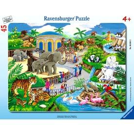 Állatkerti séta 45 darabos puzzle