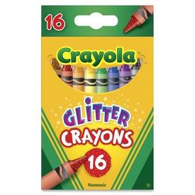 Crayola: csillámos zsírkréta 16 darabos készlet