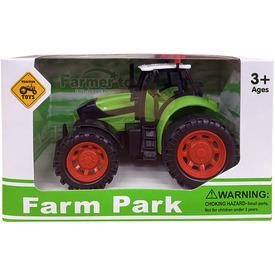 Műanyag traktor - 13 cm, többféle