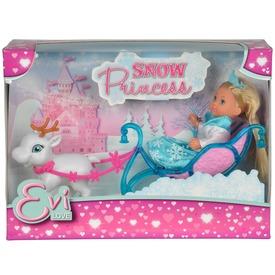 Évi Love hóhercegnő baba szánnal