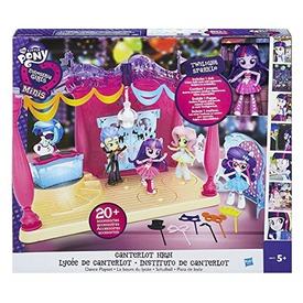 MLP EQU. Girls mini CANTERLOT táncparkett B