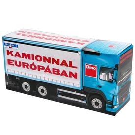 Kamionnal Európában társasjáték Itt egy ajánlat található, a bővebben gombra kattintva, további információkat talál a termékről.