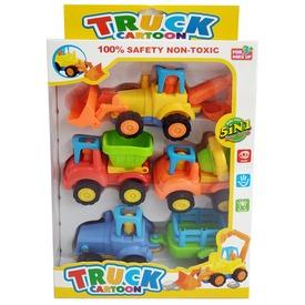 Cartoon Truck 4 darabos lendkerekes autókészlet Itt egy ajánlat található, a bővebben gombra kattintva, további információkat talál a termékről.