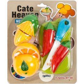 Vágható gyümölcs és zöldség 8 darabos készlet