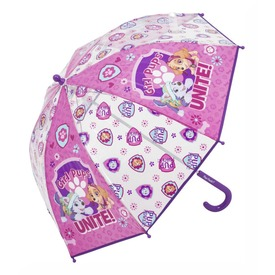 Mancs őrjárat esernyő - rózsaszín