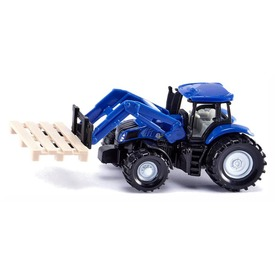 Siku New Holland traktor emelővel 1:87 - 1487