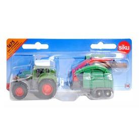 SIKU Traktor fadarabolóval 1:87 - 1675