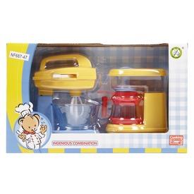 Konyhai keverőgép és kávéfőző - sárga Itt egy ajánlat található, a bővebben gombra kattintva, további információkat talál a termékről.