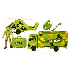 Katonai autó és helikopter készlet figurával Itt egy ajánlat található, a bővebben gombra kattintva, további információkat talál a termékről.