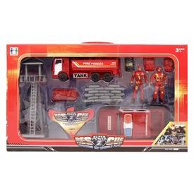 Tűzoltó autó készlet figurákkal Itt egy ajánlat található, a bővebben gombra kattintva, további információkat talál a termékről.