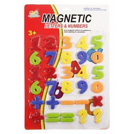 Mágneses szám készlet - többféle