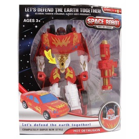 Hot Detrusion átalakuló robot - piros, 18 cm Itt egy ajánlat található, a bővebben gombra kattintva, további információkat talál a termékről.