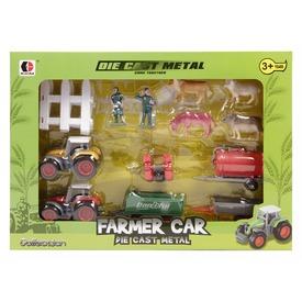 Fém traktor készlet kiegészítőkkel - 1:72 Itt egy ajánlat található, a bővebben gombra kattintva, további információkat talál a termékről.