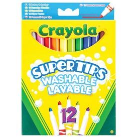 Crayola: 12 darabos vékony filctoll készlet
