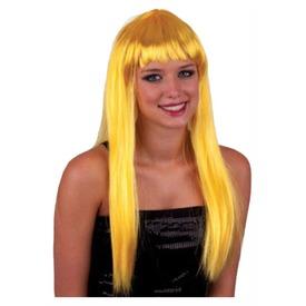 Paróka - hosszú haj - arany