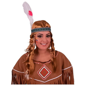 Indián lány paróka - fekete Itt egy ajánlat található, a bővebben gombra kattintva, további információkat talál a termékről.